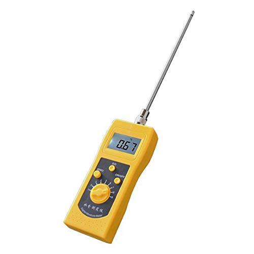 YEZIO Soil Meter DM300F High Frequency Moisture Meter For Chemical Raw Material, Ceramic Powder, Refractory Powder, Mud, Soil, San Soil Test Kits