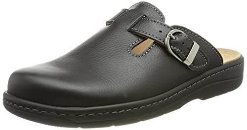 Doccomfort 665777, Zapatos para Profesionales Sanitarios Hombre, Negro, 45 EU