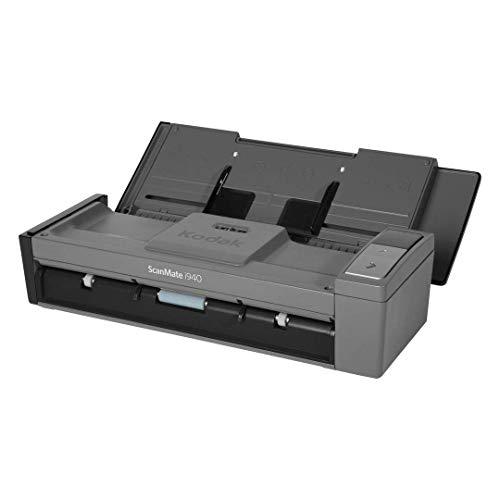 コダック ScanMate i940 スキャナー 給紙枚数20枚 読取速度A4白黒20枚 分、カラー15枚 分 USBバスパワー対応 シートフィード ADF 両面モデル 小型高速スキャナー