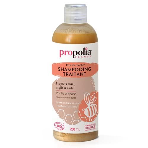 Propolia Shampooing Traitant Popolis/Argile/Cade Beige Miel Bio 200 ml