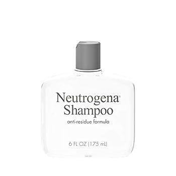 Neutrogena Anti-Residue Clarifying Shampoo Gentle Non-Irritating Clarifying Shampoo to Remove Hair Build-Up & Residue 6 Fl Ounce
