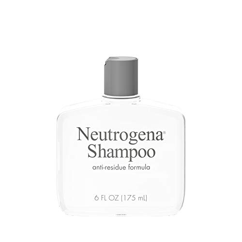 Neutrogena Anti-Residue Shampoo, Gentle Non-Irritating Clarifying Shampoo to Remove Hair Build-Up & Residue, 6 fl. oz