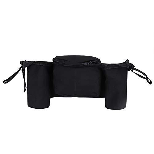 Bolsa colgante para cochecito, organizador de cochecito de bebé resistente y duradero, diseño ajustable para uso en interiores y exteriores Cochecito de bebé