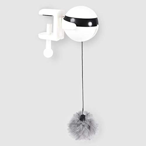 Interactieve elektronische speelgoed samenvatting bal Beweging Katten Yo-Yo tremolo elektrische takel roterende automatische interactieve Pet Puzzle,zoals,wit