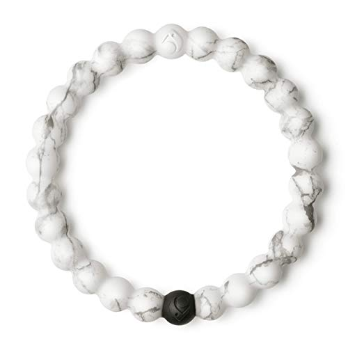 Lokai Marble Bracelet, White, 7' - Large