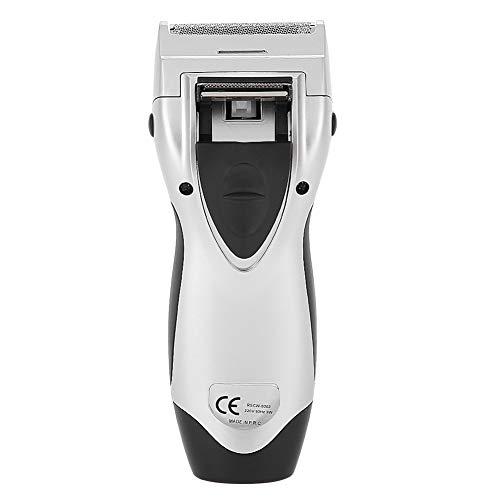 Mannen elektrische dubbellaags precisie baardtrimmer, Salon Home mannen baardtrimmer baard scheerapparaat tondeuse kappers tool