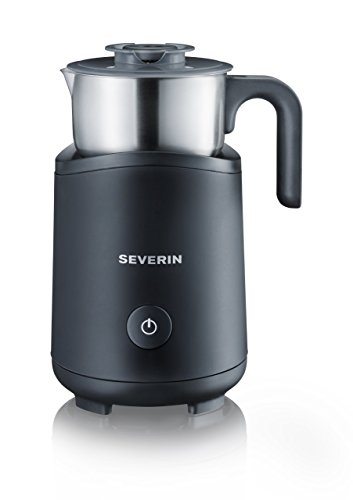 SEVERIN SM 9495 Induktions-Milchaufschäumer, edelstahl/schwarz