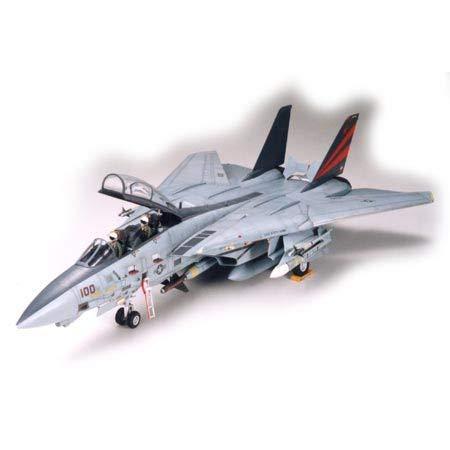 タミヤ 1/32 エアークラフトシリーズ No.13 アメリカ海軍 グラマン F-14A トムキャット ブラックナイツ プ...