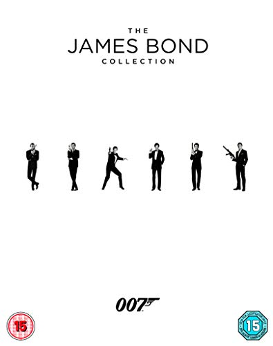 The James Bond Collection 1-24 [Blu-ray] [2017]