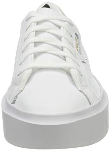 adidas Sleek Super W, Zapatillas Mujer, Blanco Ef8858, 38 EU