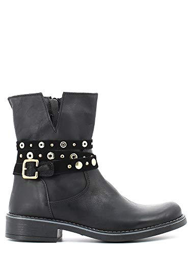 Melania MK6793F5I.A Boots à Talons Enfant Noir 38