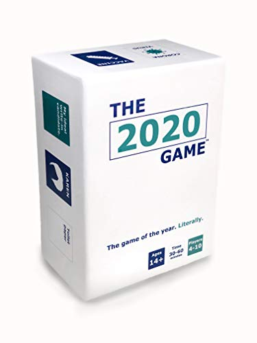 The 2020 Game - The Game of The Year. Literally - Party Game for Adults and Family