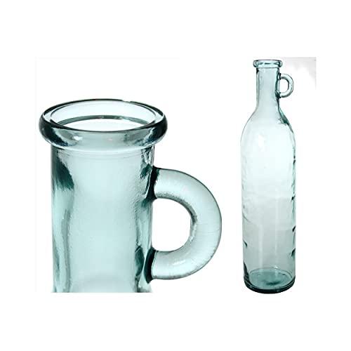 Home Line Botella de Cristal con Asa 75 cm