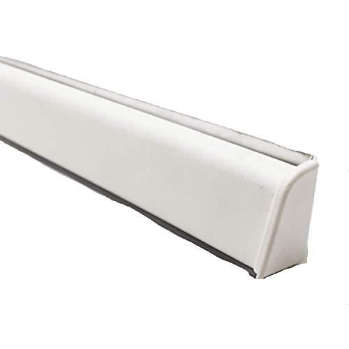 Alzatina per piani da cucina, spalletta per top, alzatina, finale per top con la seguente misura= 2 metri lineari compresa di finali, alzatina in colore bianco