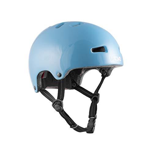 TSG Nipper Mini Solid Color Helm Kinder Gloss Baby Blue 2021 Fahrradhelm