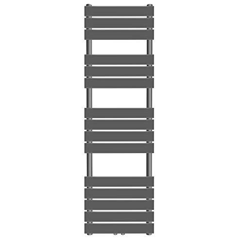 Sèche-Serviette pour Salle de Bain - Montage au Mur, en Acier Inoxydable, Format Vertical, Taille et Couleur au Choix - Radiateur, Chauffe-Serviette