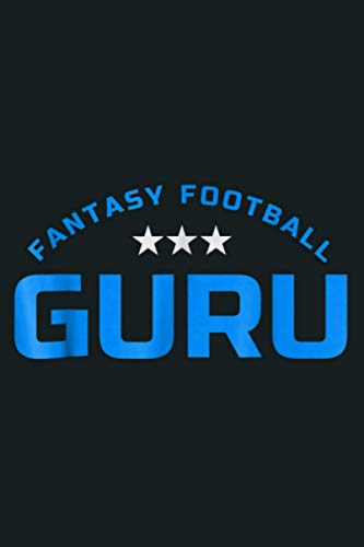 FANTASY FOOTBALL GURU: Notebook Planner - 6x9 inch Daily Planner Journal, To Do List Notebook, Daily Organizer, 114 Pages