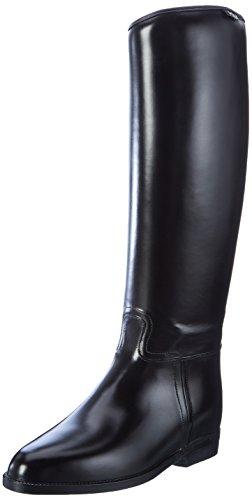 Hkm Standard mit Elastikeinsatz Botas de Equitación, Mujer, Negro, 40 EU