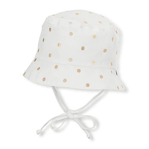 Sterntaler Baby-Mädchen Hut Mütze, Beige (Ecru 908), 49