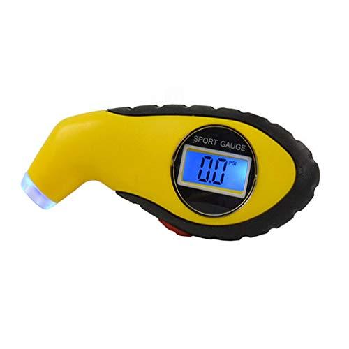 rongweiwang Neumáticos Manómetro Digital de Aire del Coche Indicador de presión Indicador de presión de neumáticos de Bicicletas Auto camión probador del medidor de Aire del neumático