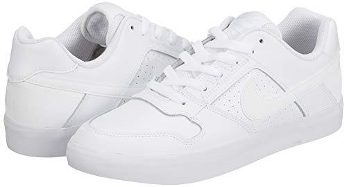 Nike SB Delta Force Vulc, Zapatillas de Skateboarding Hombre, Blanco (White 112), 39.5 EU