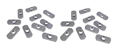 20 Pack 3/8-16 Spot Weld Nuts - Double Tab - ND 3324