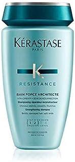 Kerastase Resistance Bain Force Architecte Shampoo, 8.5 Ounce