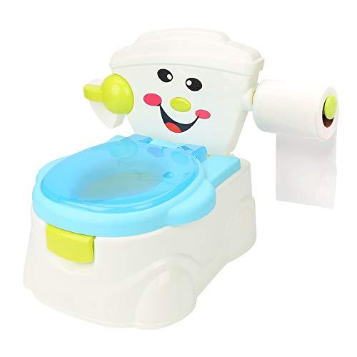 Meine erste Toilette Töpfchen und Toilettensitz, Toilettentrainer Kidskit Kindertopf Töpfchen Kindertoilette Kindertopf Kindertopf Lerntöpfchen, 31 * 33 * 34,5 cm