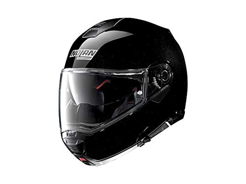 Nolan N100-5 Special N-Com, Motorradhelm, Klapphelm, Metal Schwarz, XXS