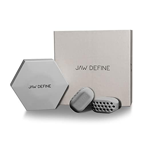 JAW DEFINE - Jawline Trainer, Kiefer Trainer, Kinn Trainer, 50 Kg Widerstand