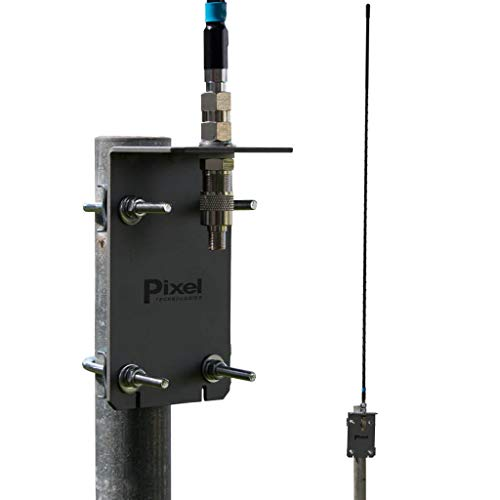 Pixel Technologies AFHD-4 AM FM HD Radio Antenna works with Coaxial RG6 Cable, Omnidirectional and...