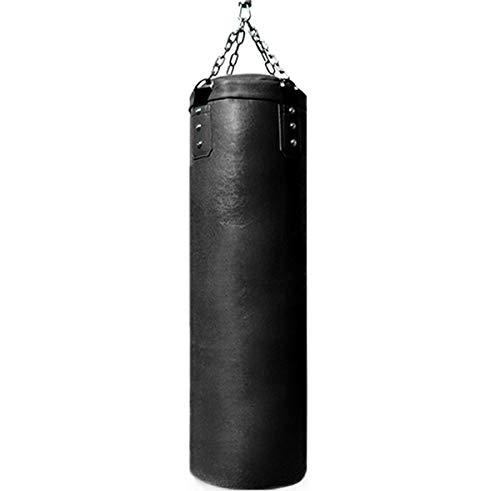 HATHOR-23 Boxeo Pesado, for Adolescentes Y Adultos Bolsa De Entrenamiento con Cadenas, Equipo De Entrenamiento De Boxeo De Taekwondo, Negro (Solo Uno) (Color : Black, Size : 180cm)