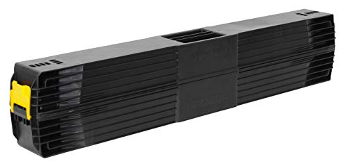 Stanley klappbares Unterstellbock Paar aus Metall 1-97-475 / Mit Kunststoffauflage & rutschfesten Gummifüßen / bis 340 kg Tragkraft / 101,7 x 12,5 x 75,8 cm - 2