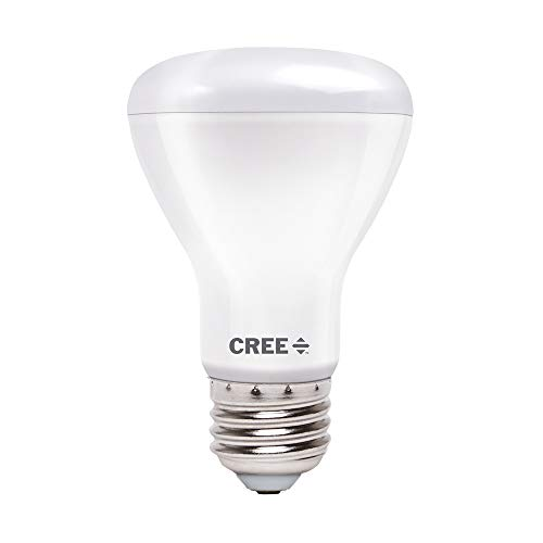 Cree Lighting R20 Indoor Flood 100W Equivalent LED Bulb, 1400 lumens, Dimmable, Soft White 2700K, 25,000 Hour Rated Life, 90+ CRI | 1-Pack