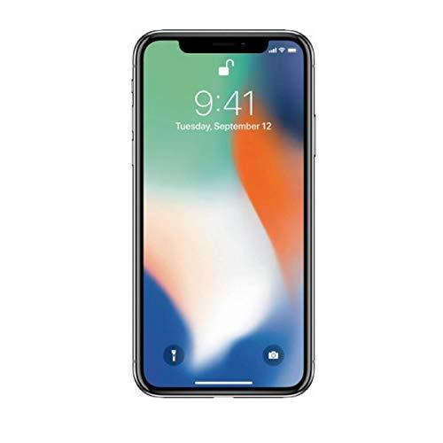 Apple- iPhone X – Capacidad 256 GB – Color Silver (Renewed/Reacondicionado)