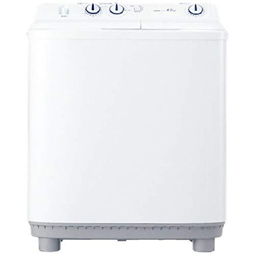 ハイアール 4.5Kg 二槽式洗濯機 JW-W45E-W ホワイト