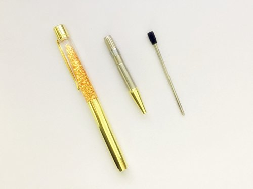 Pen Bling sets Pen Rhinestones Crystal Metal Ballpoint Pens Fine Black Ink Office Supplies(package of 4) Photo #2