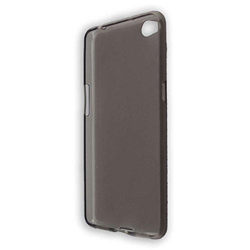 caseroxx TPU-Hülle für Nubia Nubia N2, Handy Hülle Tasche (TPU-Hülle in schwarz-transparent)
