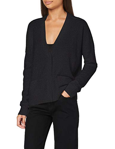 BOSS C_fabula Suéter cárdigan, Medium Grey30, M para Mujer