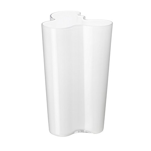 Iittala Alvar Aalto Collection - Finlandia Vase - 251 mm - Opalweiß