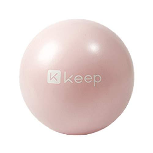 HENGTONGTONGXUN Balón de Yoga, Rosa, Equilibrio Azul, Fitness, Balón Suizo, Balón de Ejercicio, Balón Yaga, Silla de balón de Ejercicio, Balón de Ejercicio con Banda de Resistencia (Color : Pink)