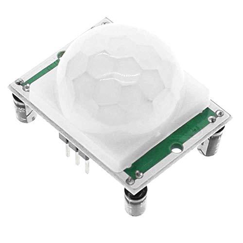 Ociodual Modulo Sensor de Movimiento PIR HC-SR501 para Raspberry