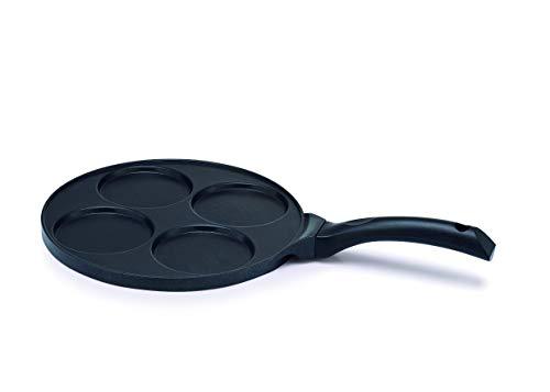 Kitchen Fun 13878264 Poêle à Blinis 27 cm, Noire