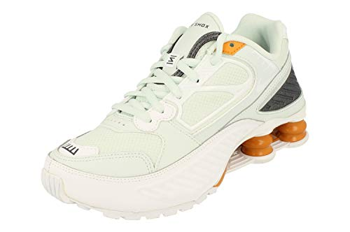 Nike W Shox Enigma Verde Acqua Giallo Bianco Sneakers BQ9001400 (36.5 - Verde)