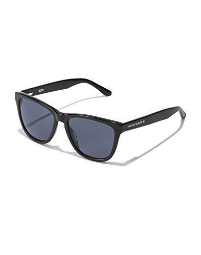 HAWKERS X Gafas de sol, Negro brilo/Negro, One Size Unisex Adulto