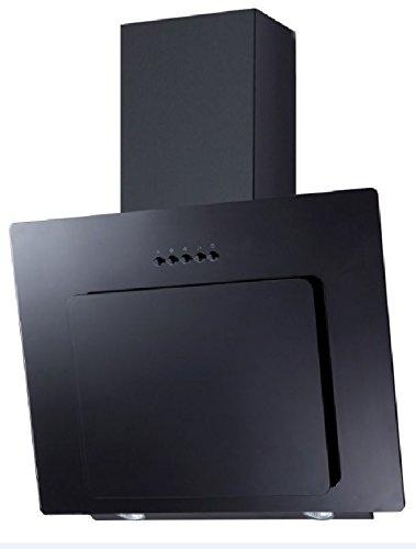 Umluft Set: Dunstabzugshaube+Filter PKM 9039X Glas schwarz 60cm + Aktivkohlefilter CO4