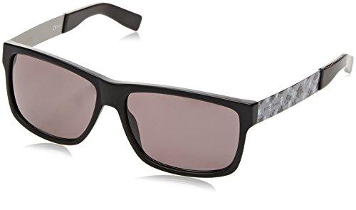 BOSS Orange BO 0196, Gafas de Sol Unisex, Negro (Bk Antcbkgry With Brw Grey Lens), 59 mm