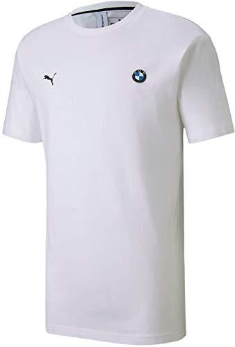 PUMA Herren BMW Hemd, Weiß, Mittel