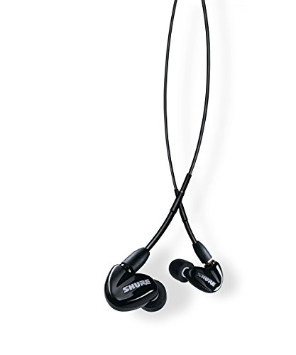 Shure SE315-K Sound Isolating Earphones with Single High Definition MicroDriver and Tuned BassPort