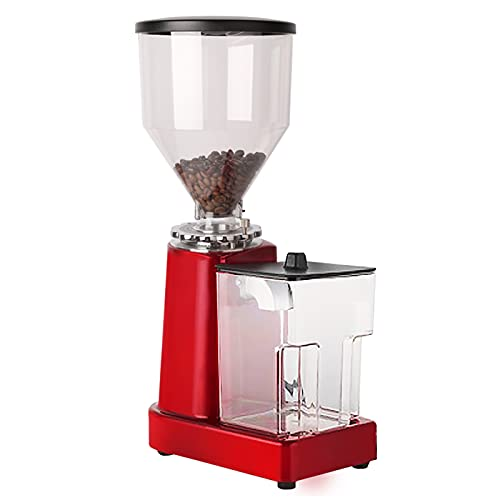 Coffee Bean Grinder 110V Electric Flat Burr Coffee Grinding Machine Automatic Milling Machine for 35oz Bean w/ 19 Grind Settings 36 Cups Professional Miller for Drip, Percolator,Espresso (Red)